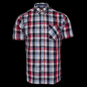 """Merc """"Ashford"""" Button Down Shirt (red)"""