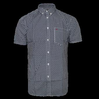 "Merc ""Shipley"" Button Down Hemd (blau)"
