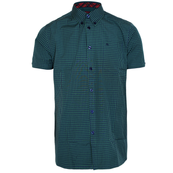 """Merc """"Terry"""" Button Down Hemd (grün)"""