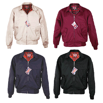 "Harrington-Jacke ""England"""