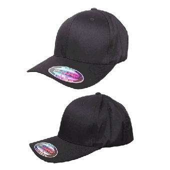 Flexfit Basecap (schwarz/black)