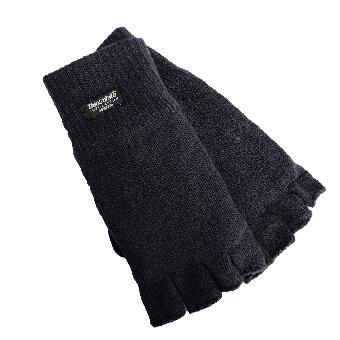 Mil -Tec Fingerless Gloves (Thinsulate) (uni size) (black)