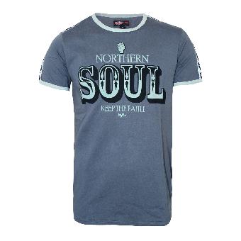 "Warrior ""Northern Soul"" T-Shirt (grey)"