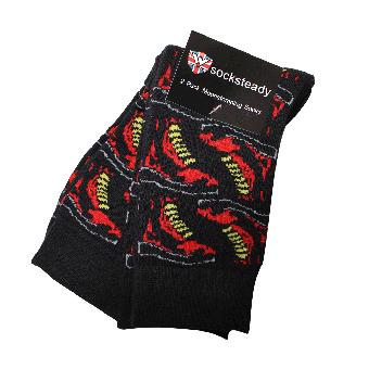 "Warrior ""Boots"" Socken (2 Paar) (size 40-44)"