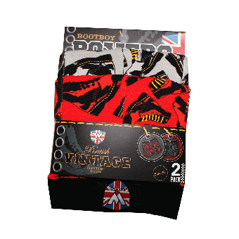 "Warrior ""Boots"" Boxer Shorts (2 pieces)"