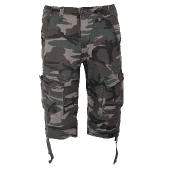 "Surplus ""Trooper Legend"" 3/4 Shorts (woodland)"