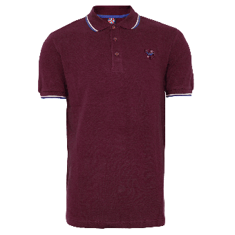 "Warrior ""Soul 45"" Polo (weinrot)"