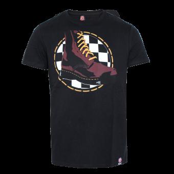 "Warrior ""Boot"" T-Shirt (black)"