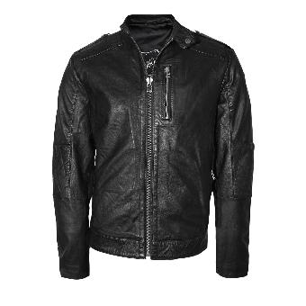 "Leatherjacket ""Anglo"" (black)"