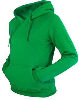 Urban Classics Kapu / Hooded (Girly) (green) (reduziert)
