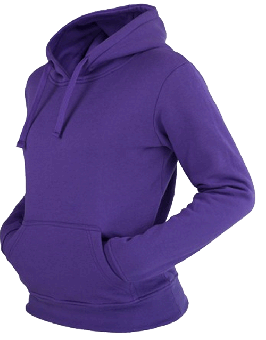 Urban Classics Kapu / Hooded (Girly) (purple) (reduziert)