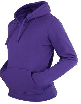Urban Classics Kapu / Hooded (Girly) (purple)