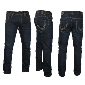 "Urban Classics ""Classic"" Jeanshose (straight) (black coated)"