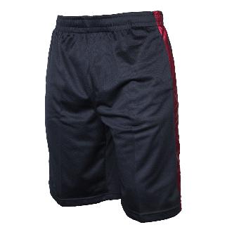 Urban Classics Bball Mesh Shorts (navy/ruby)
