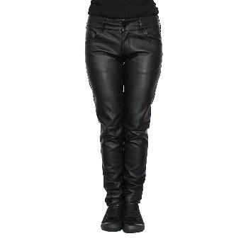 Urban Classics Girly Kunstlederhose (black)