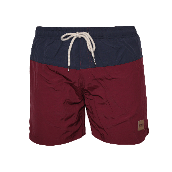 Urban Classics Swim Shorts (burgund)