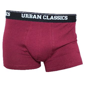 Urban Classics Boxer Short (weinrot) (2erPack)