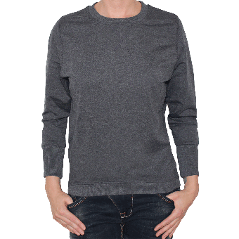 Urban Classics Girly Sweatshirt (charcoal)