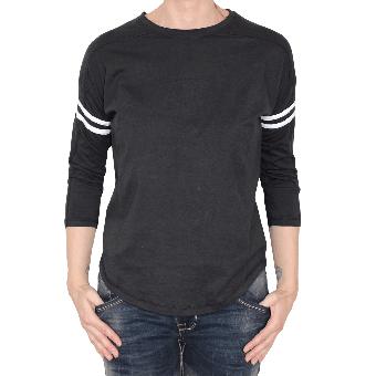 "Urban Classics ""Stripe"" Girly Shirt (black)"
