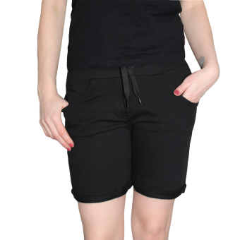 "Urban Classics ""5 Pocket"" Girl Sweatshorts (black)"