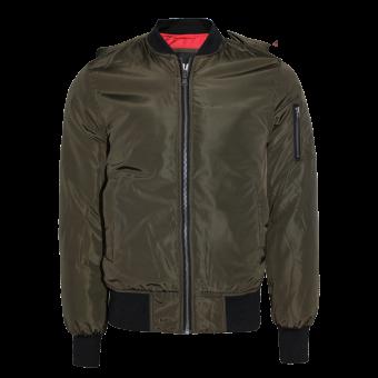 Urban Classics 2-Tone Bomber Jacket (olive)