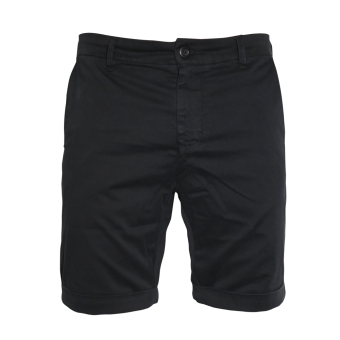 Urban Classics Turnup Chino Shorts (schwarz)