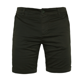 Urban Classics Turnup Chino Shorts (darkoliv)