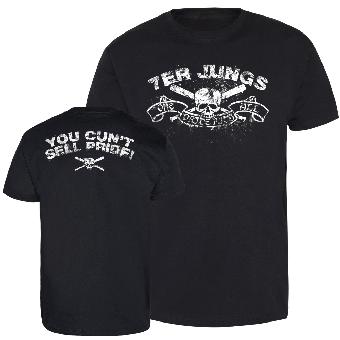"""7er Jungs """"Skull"""" T-Shirt"""