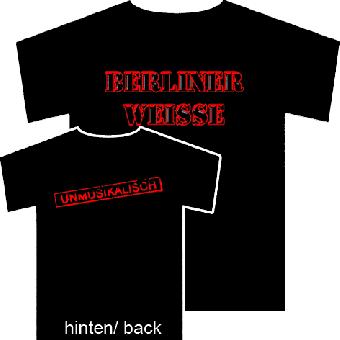 Berliner Weisse (Unmusikalisch) - T-Shirt