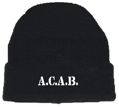 A.C.A.B. Strickmütze (wool cap)