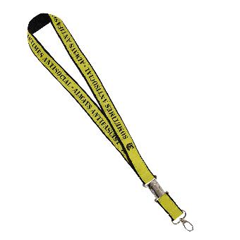 Sometimes Antisocial Schlüsselband (schwarz/gelb)