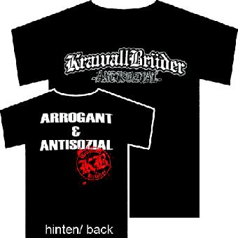 "Krawallbrüder ""Antisozial"" T-Shirt"