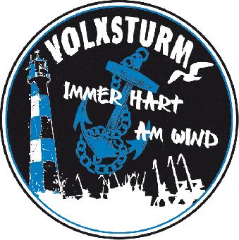 "Volxsturm ""Hart am Wind"" - Aufkleber 031"