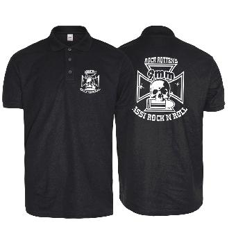 """9mm Assi Rock`n`Roll """"Logo"""" Poloshirt"""