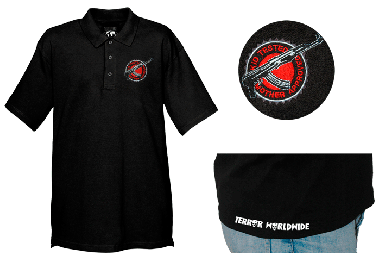 "Terror Crew (exclusiv) ""Kid tested"" Polo-Shirt (reduziert)"