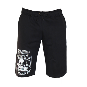 "9mm Assi Rock`n`Roll ""Logo"" 3/4 Summer-Shorts"