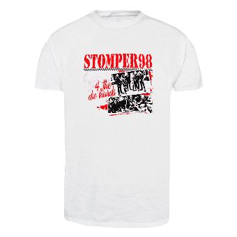 """Stomper 98  """"4 the die hards"""" - T-Shirt (weiß/white)"""