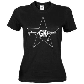 """Grober Knüppel """"RAF"""" - Girly-Shirt (reduziert)"""