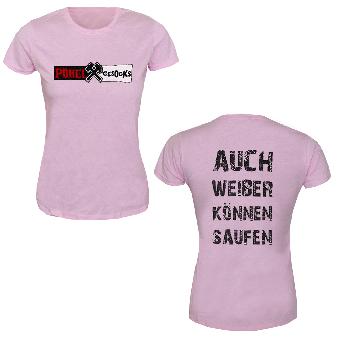"Pöbel & Gesocks ""Weiber"" Girly-Shirt"