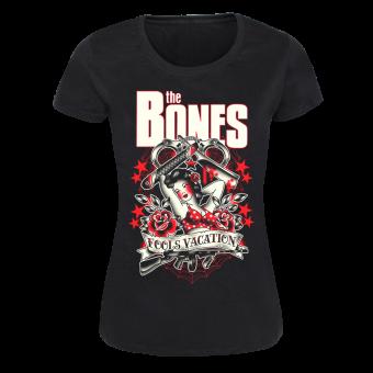 "Bones,The ""Fool`s Vacation"" Girly Shirt"
