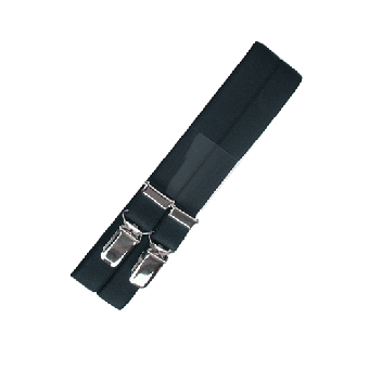 Never Surrender Streetwear - braces (black)