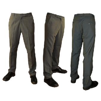 Sta-Prest-Hose/Chino Pants (Tonic green)
