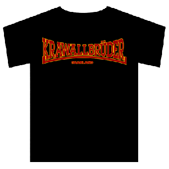 """Krawallbrüder """"Saarland"""" T-Shirt"""