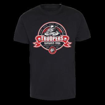 "Troopers ""Barbaren Bräu"" T-Shirt (black)"