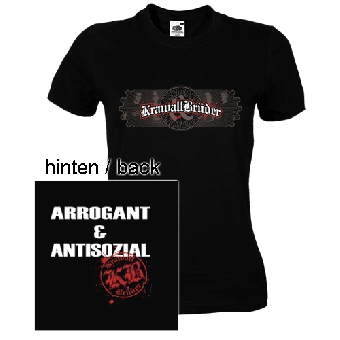 "Krawallbrüder ""Antisozial"" Girly Shirt"