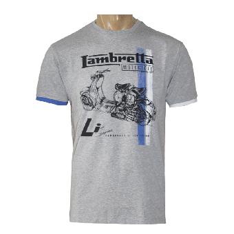 "Lambretta ""Scooter"" TShirt (melange grey) (reduziert)"