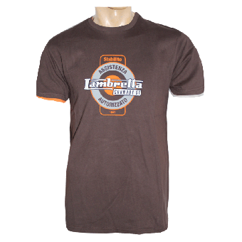 "Lambretta ""Service"" T-Shirt (choco) (reduziert)"