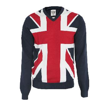 """Lambretta """"Union"""" V-Pullover (navy)"""