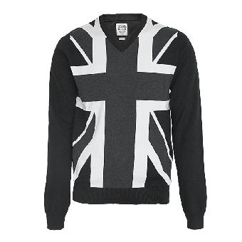 """Lambretta """"Union"""" V-Pullover (black)"""