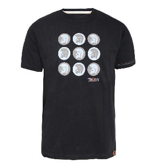 """Lambretta """"Logo"""" TShirt (black) (reduziert)"""